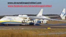 Ukraynanın  Dünyanın en büyük uçağı Ankara'ya geliy
