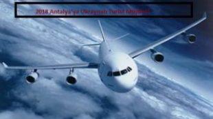 Antalya'ya Ukraynalı Turist Müjdesi