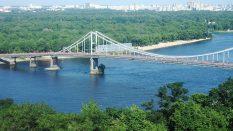 Ukrayna Kiev Dnipro nehri