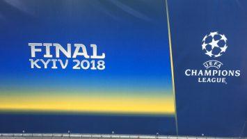 UEFA Şampiyonlar Ligi kiev'de maç bitti Real Madrid 3-Liverpool 1 -Maç bitti