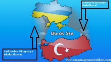 – Ukrayna dan Turkiyeye Turkiyeden ukrayna'ya italat ihraçat –