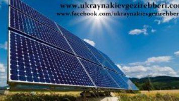 -Ukrayna'nın en büyük güneş enerjisi santrali kuruluyor-