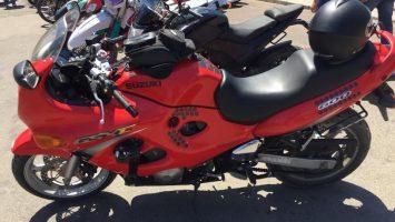 ukrayna'da motosiklet ruzgarı
