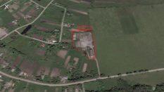 ukraynada satılık çiflik zhytomyr Velykyi Luh 7000 m2 içinde 1500 m2 kapalı alan